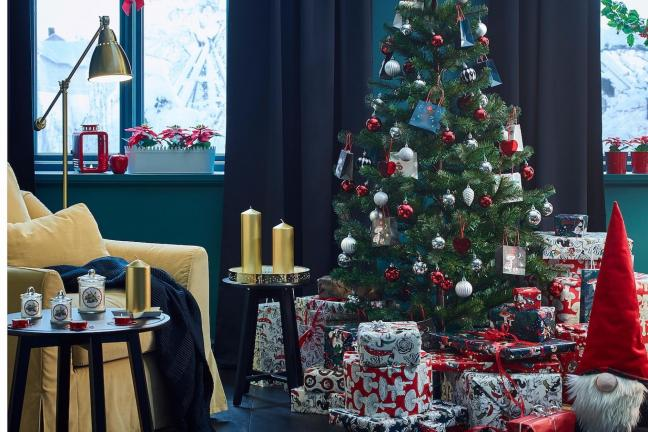 Holidays in the IKEA campaign or
