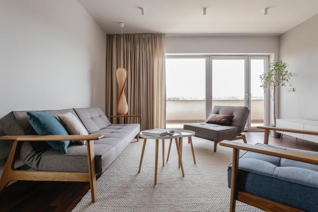 Warszawskie mieszkanie w duńskim stylu