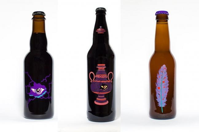 Piwo w neonowych kolorach