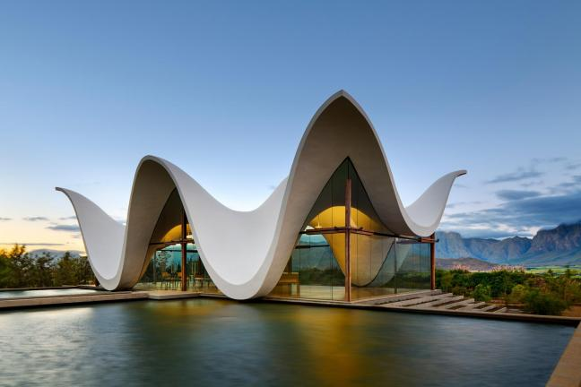 The unusual chapel in South Africa