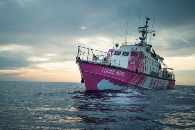 Banksy sfinansował łódź, która pomaga imigrantom