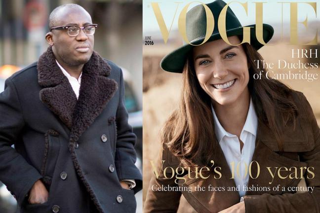 Edward Enninful redaktorem naczelnym brytyjskiego Vogue!