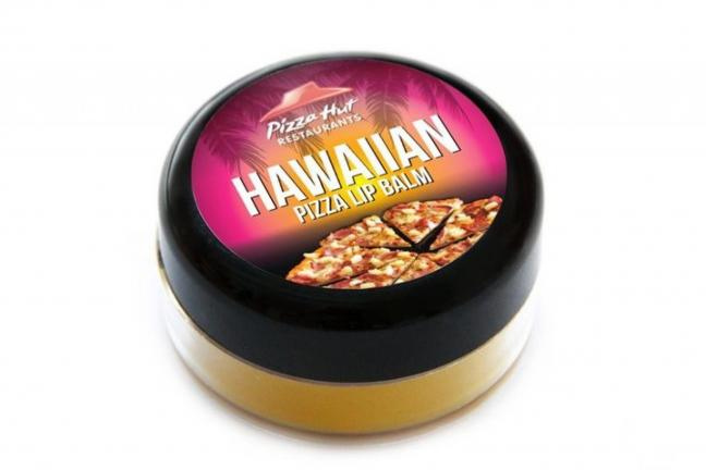 Balsam do ust o smaku pizzy hawajskiej
