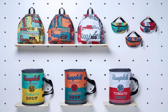 Eastpack collection inspired by Andy Warhol