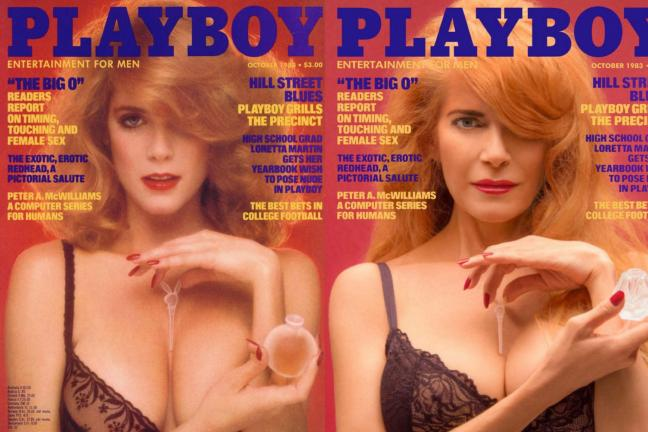 Playboy reproduces its covers over the years