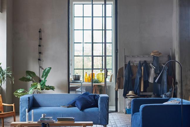 IKEA tworzy pokrowce na kanapy ze starych jeansów