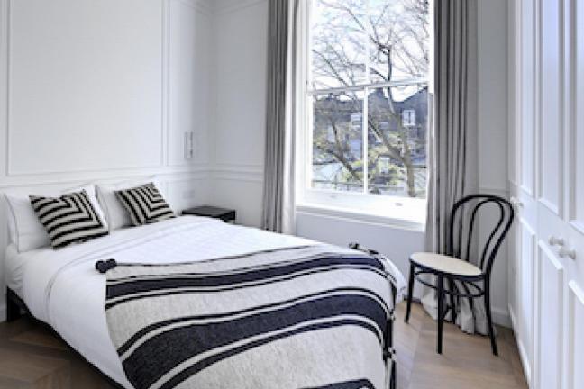 Londyńskie mieszkanie projektu Oli Jachymiak