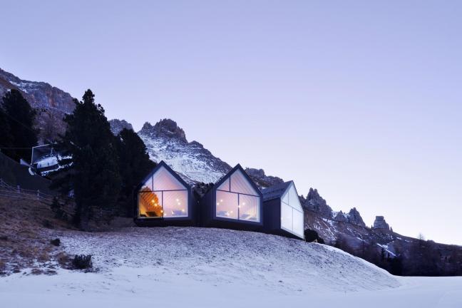 Niezwykła restauracja z widokiem na góry