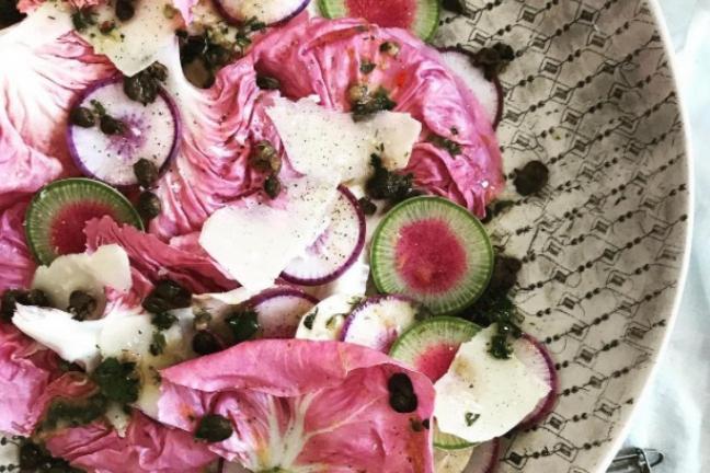 Pink lettuce raises Instagram