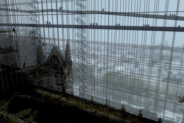 Nowojorskie studio proponuje zapakować katedrę Notre Dame