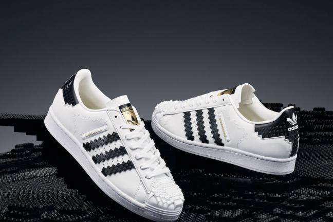 Buty adidas z klocków LEGO