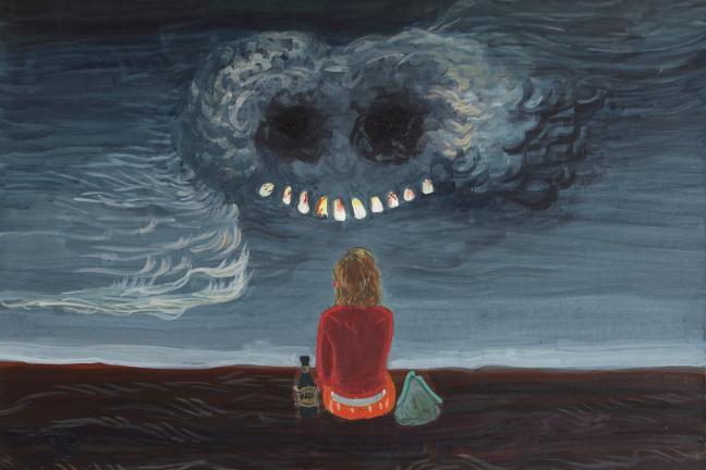 Obraz polskiej artystki na okładce książki Nicka Cave'a