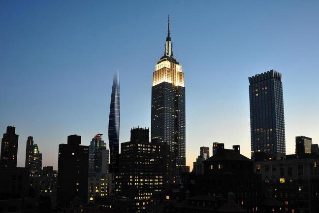 An unusual New York skyscraper