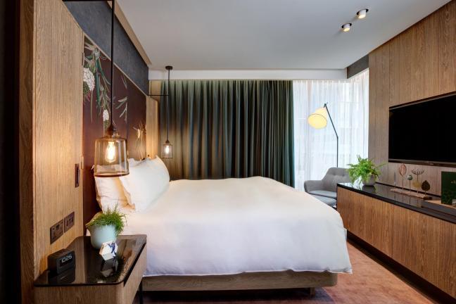 Pierwszy wegański pokój hotelowy