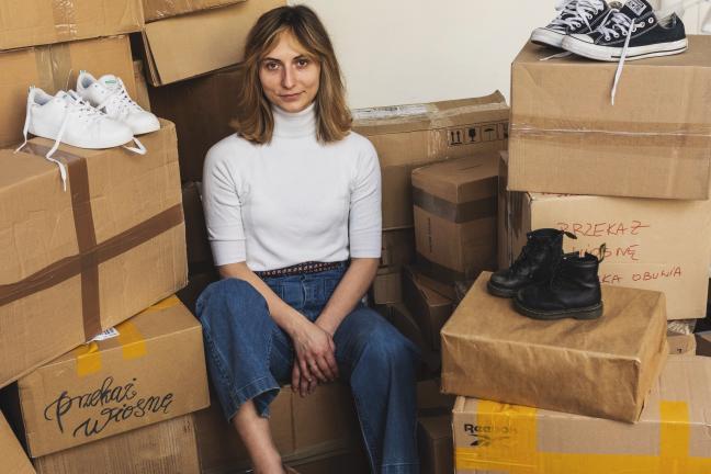 Her stories: WoshWosh, czyli jak Martyna Zastawna nadała butom drugie życie