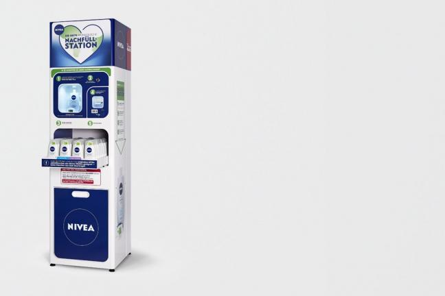 NIVEA stawia na automat do uzupełniania kosmetyków