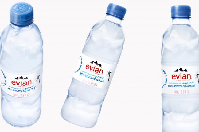Butelka z plastiku z recyklingu od Virgila Abloha