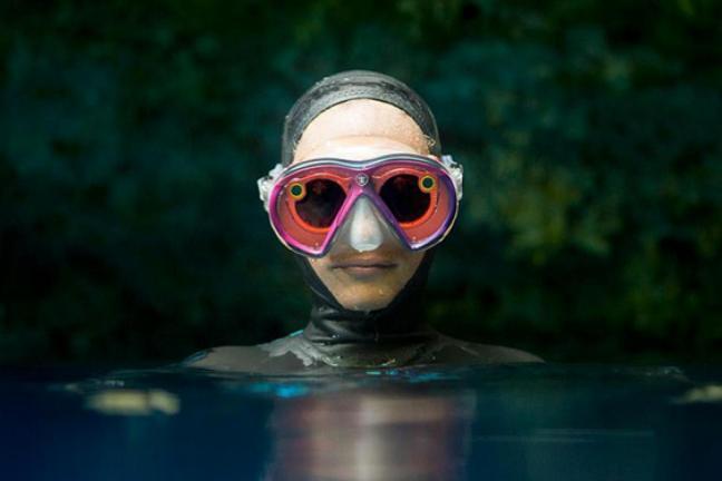 Podwodny Snapchat