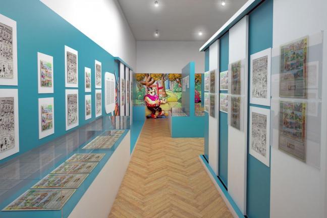 Historia polskiego komiksu w Muzeum Narodowym w Krakowie