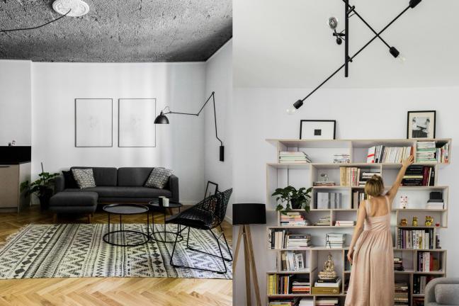Warszawskie mieszkanie w modernistycznej kamienicy