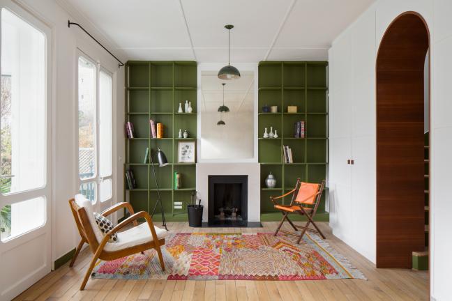 A metamorphosis of the Paris home