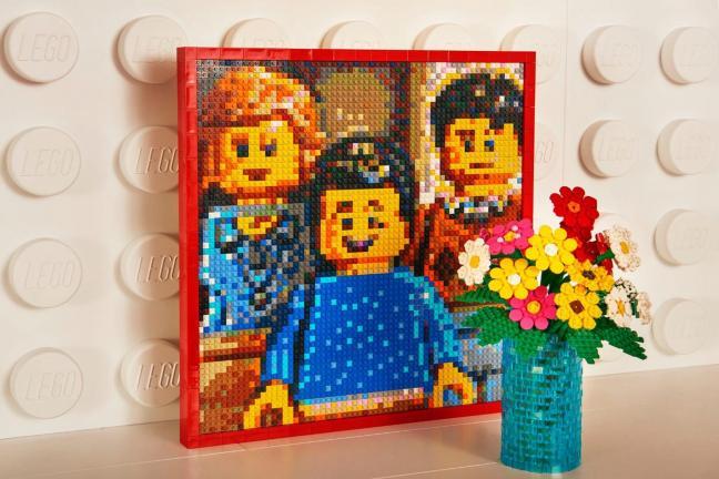 Mieszkanie z klocków Lego