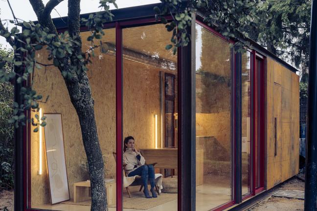 Biuro w lesie