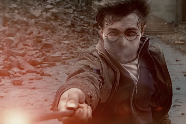 Harry Potter zachęca do noszenia maseczki
