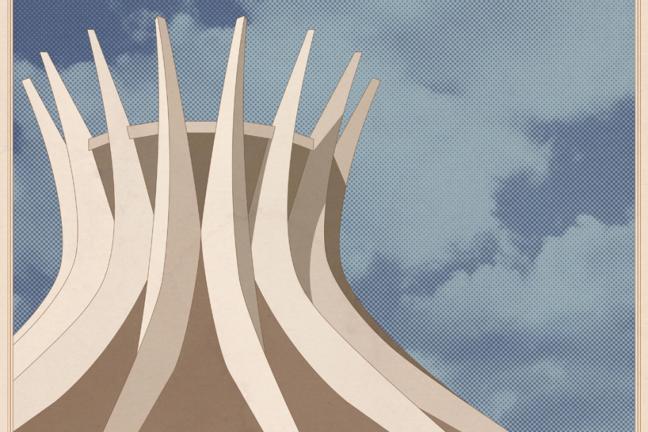 Architektoniczne plakaty od Andre Chiote