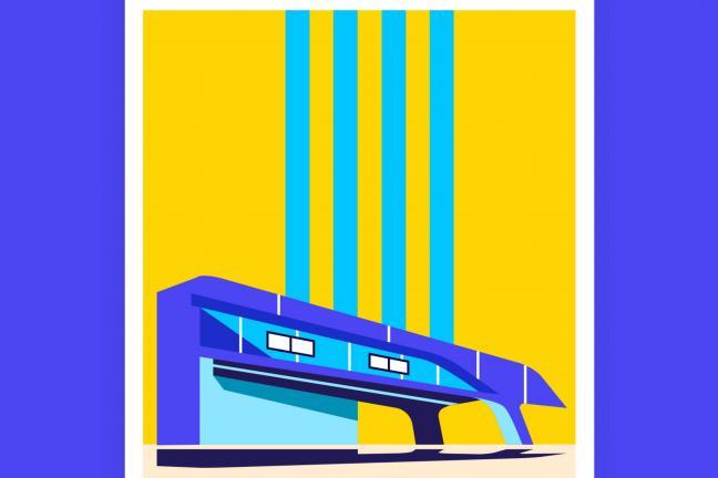 Najbardziej ikoniczne budynki Zahy Hadid na plakatach