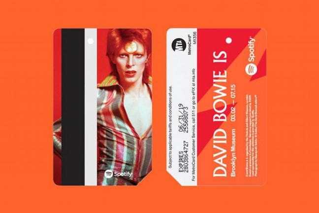 David Bowie w nowojorskim metrze