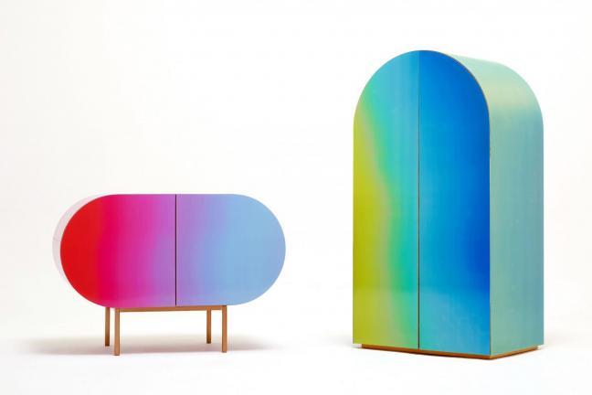 Rainbow furniture