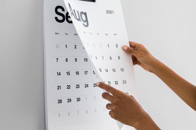 Kalendarz KAL – mniej znaczy więcej