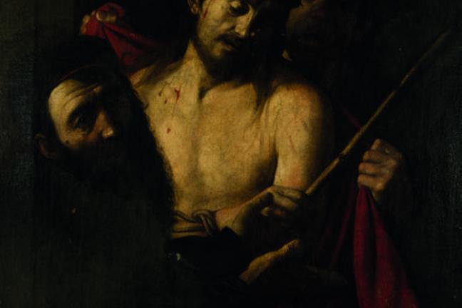 Obraz Caravaggio ukrzyżowanie Chrystusa na aukcji w Hiszpanii