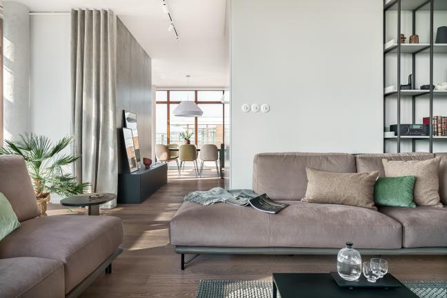 Słoneczny apartament w gdańskim Garnizonie