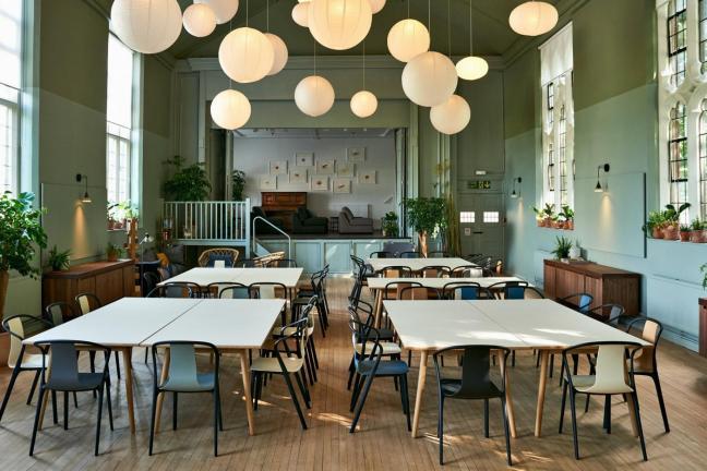 Najciekawsze wnętrza restauracji i kawiarni 2017