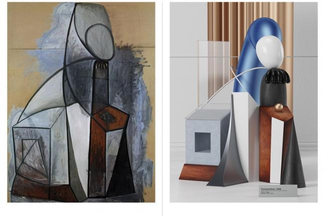 Picasso works in 3D