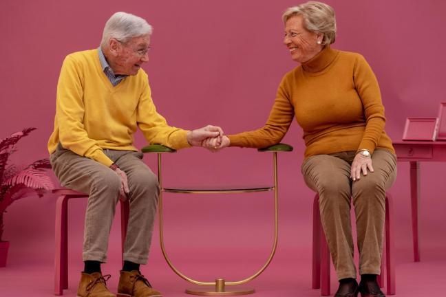 Zestaw, który ma pielęgnować seksualność i uczucia emerytów