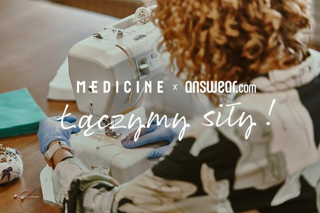 ANSWEAR.com oraz MEDICINE Everyday Therapy łączą siły dla polskich szpitali