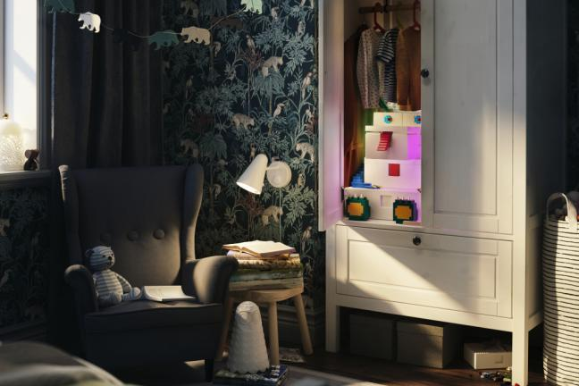 Kreatywne rozwiązanie do przechowywania i zabawy od IKEA i LEGO