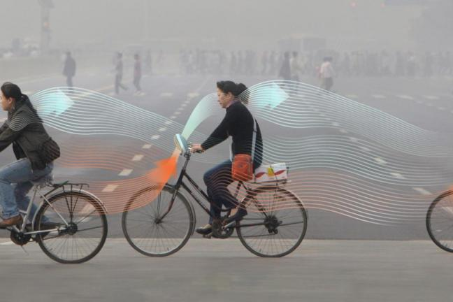 Anty-smogowy rower