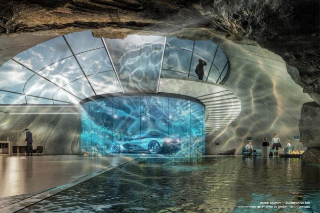 Aston Martin wprowadza usługę projektowania domów dla miłośników samochodów