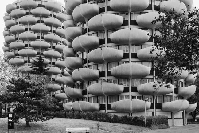 Brutalizm w Paryżu