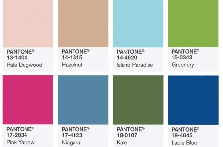 We know the color of the Pantone 2018 year!