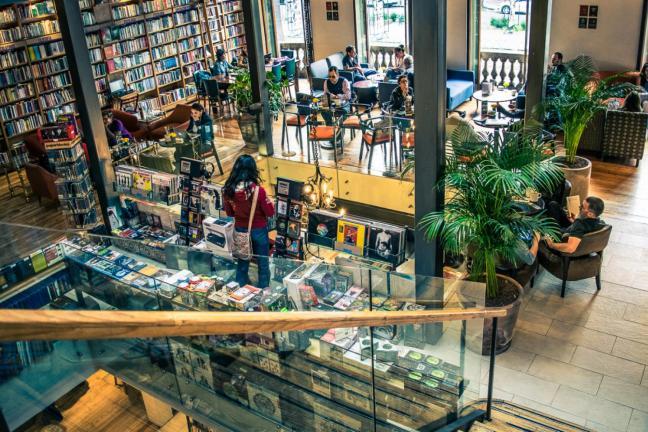 Raj dla moli książkowych w centrum Meksyku