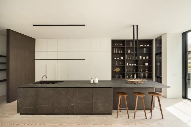 A minimalist house in California