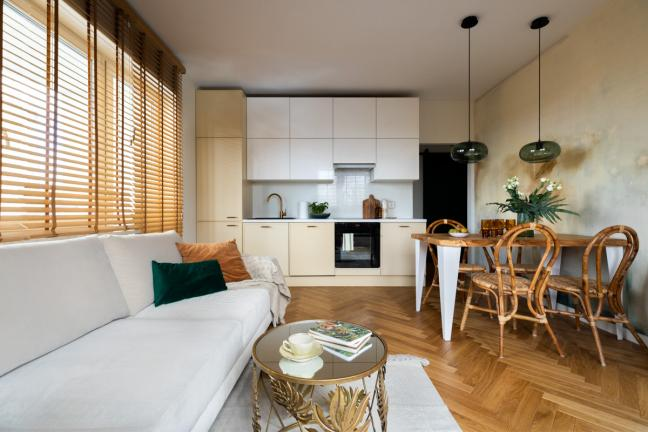 Metamorfoza mieszkania na Bielanach