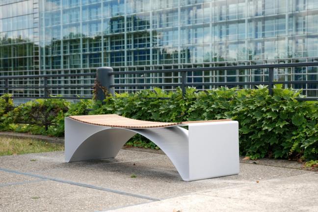Ławki polskiego projektanta podbijają Strasbourg