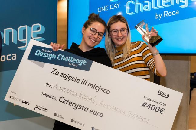Roca One Day Design Challenge w Polsce zachęca młodych utalentowanych,  aby tworzyć pod presją czasu!