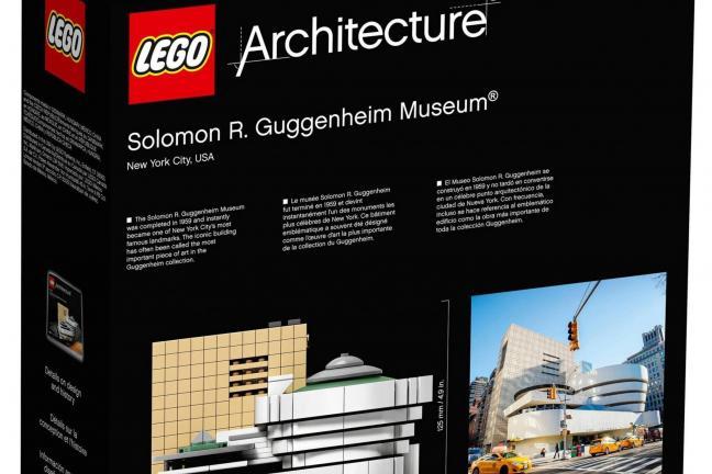 Muzeum Guggenheima z Lego